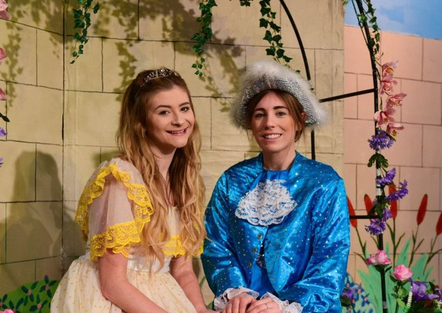 Drama group gets set to perform latest pantomime - oh yes it does