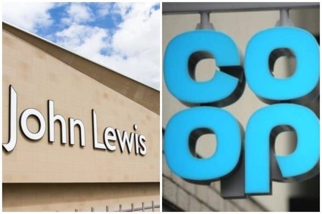 John Lewis has now made a deal with supermarket chain Co-op, allowing customers to pick up 'click and collect' orders at 500 Co-op food stores (Photo: Shutterstock)