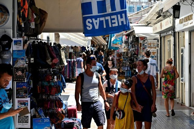 Will Greece be added to the UK quarantine list? (Photo: LOUISA GOULIAMAKI/AFP via Getty Images)
