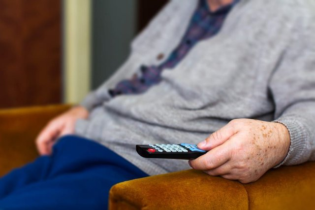 Millions of over-75s are being asked to pay a license fee to fund the BBC's output. (Photo: Shutterstock)