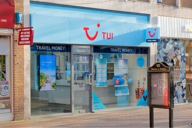 TUI is planning to close 48 more of its UK high street stores (Photo: Shutterstock)
