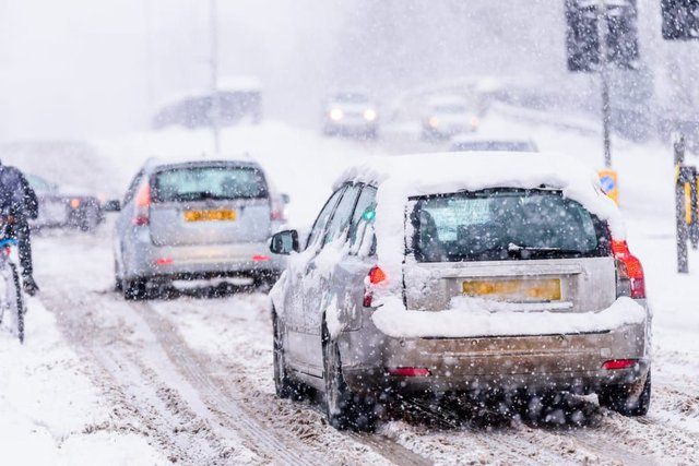 Temperatures across the UK are set to plummet over the next few days, with snow, sleet and rain to hit certain areas (Photo: Shutterstock)