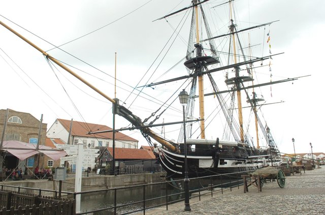 "HMS Trincomalee, ""not a bad replacement"" for Warrior and the ""jewel in the crown""."