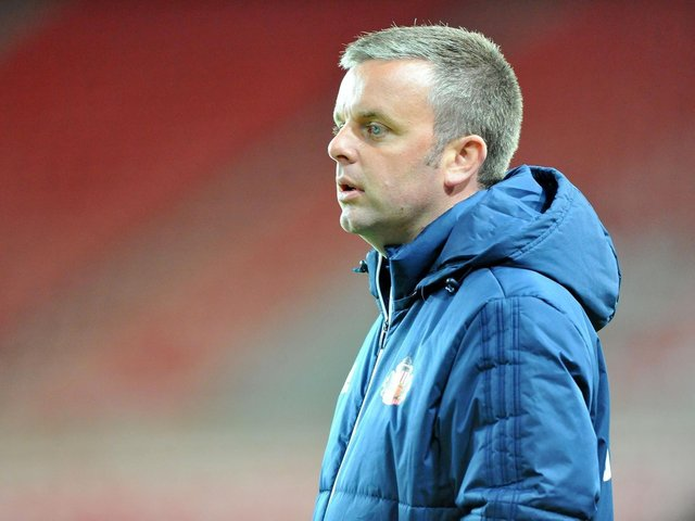 Sunderland Under-23s manager Elliott Dickman.