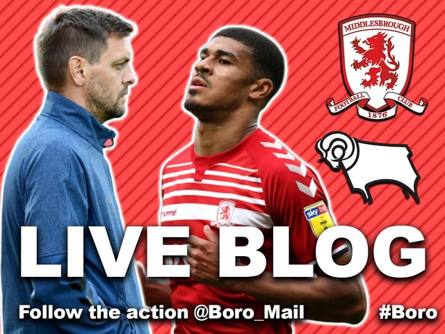 Middlesbrough vs Derby County.