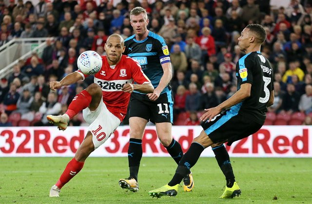 Middlesbrough striker Martin Braithwaite spent the second half of last season out on loan at Spanish side Leganes.