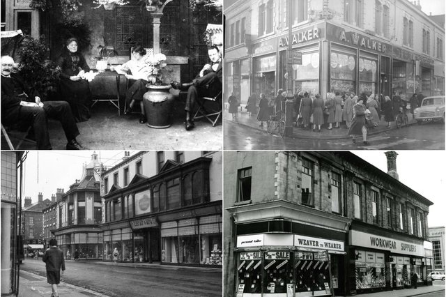 Lynn Street was a bustling heart of Hartlepool and here is the proof.