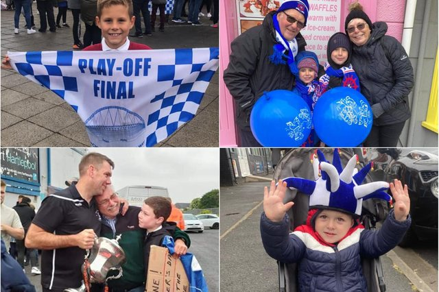 Your pictures from the Hartlepool United promotion parade.