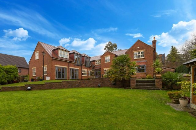 Take a look inside this impressive six bedroom property.