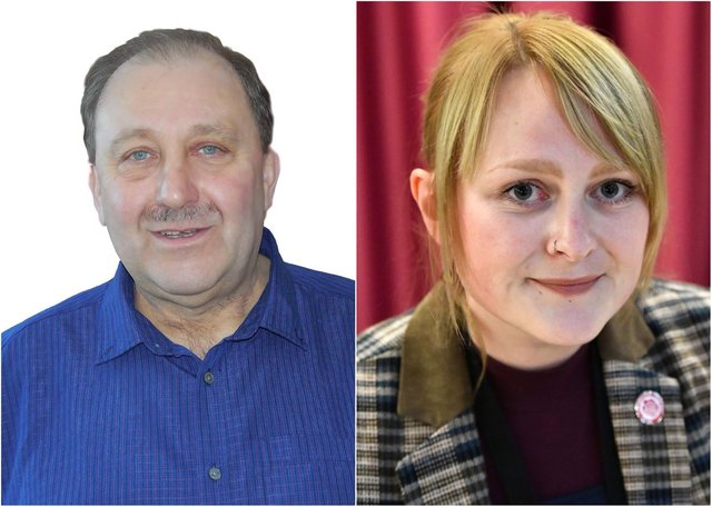 Defeated councillor Bob Buchan, left, is planning a High Court challenge after losing to Jennifer Elliott by just 10 votes in May's Hartlepool Borough Council elections.