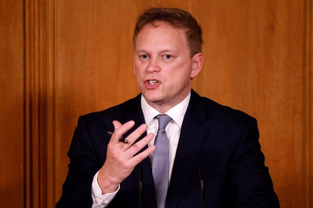 Grant Shapps is set to hold a press conference this evening (Getty Images)