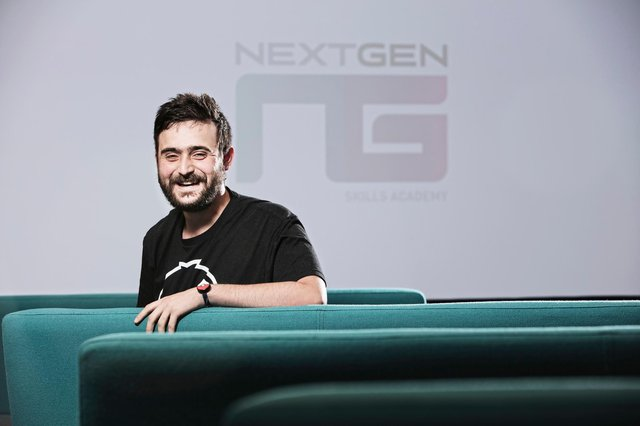 NextGen (Animation, Games Design and VFX) lecturer Chris Jeffrey who has been nominated for the 2021 BAFTA Young Games Designer Award.