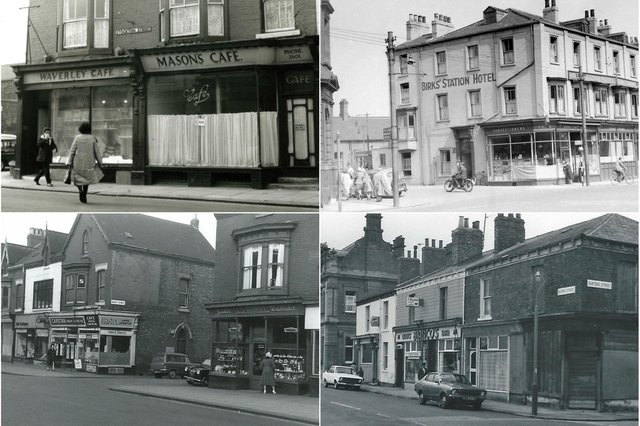 All these photos show cafes which are part of Hartlepool's history.