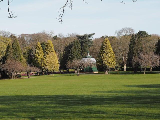 Ward Jackson Park. Picture by FRANK REID