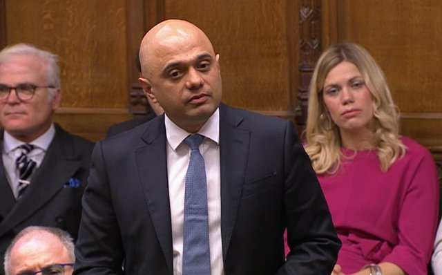 File photo dated 26/02/2020 of former chanchellor of the exchequer Sajid Javid who has been appointed as Secretary of State for Health and Social Care following the resignation of Matt Hancock. Issue date: Saturday June 26, 2021.