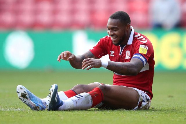 Britt Assombalonga was made Middlesbrough captain in 2020.