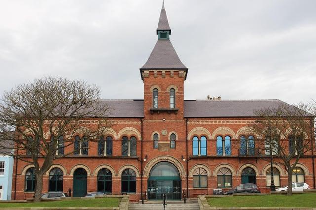 The Borough Hall on the Headland.