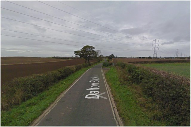 Emergency services were called to a crash on Dalton Back Lane in Hartlepool. Image by Google Maps.