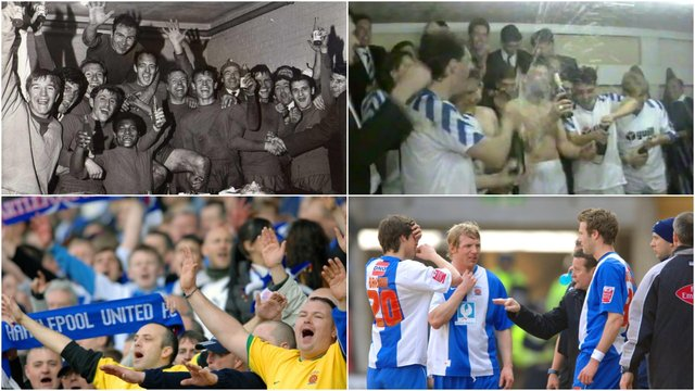 Hartlepool United are looking to earn only their fifth promotion in their history.