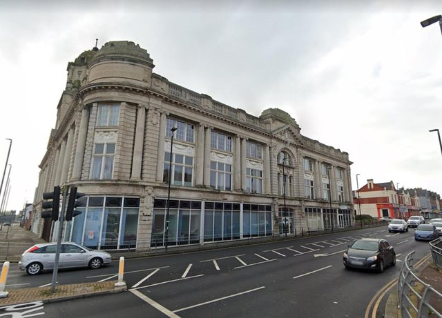 The site of the upcoming Hartlepool virtual reality centre.