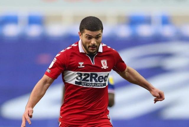 Middlesbrough midfielder Sam Morsy.