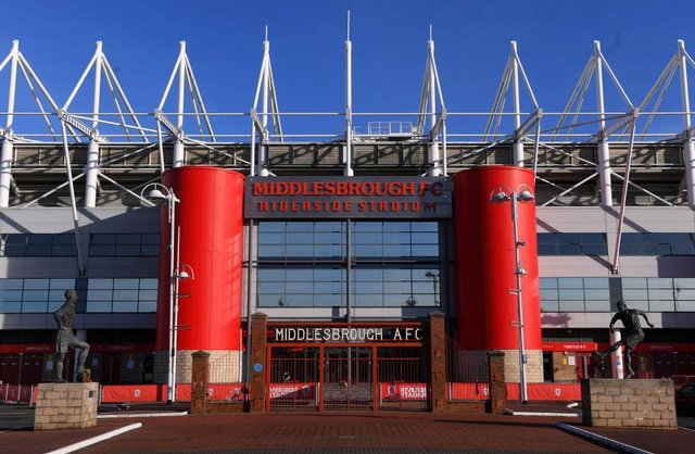 Riverside Stadium, Middlesbrough.