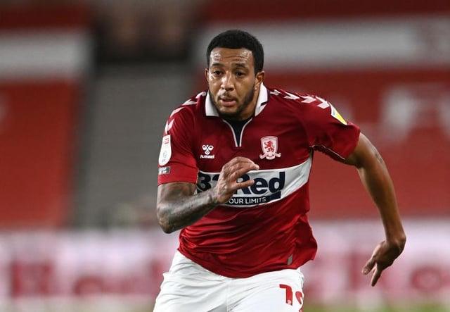 Middlesbrough winger Nathanial Mendez-Laing.
