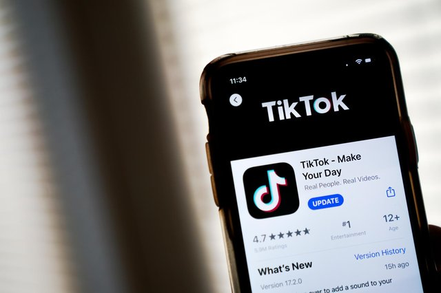 """Cleveland Police have said there is """"no verifiable information"""" that youngsters in the region are taking part in a new TikTok trend. Photo: Getty Images."""