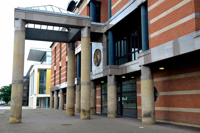 Leon Adams appeared at Teesside Crown Court.
