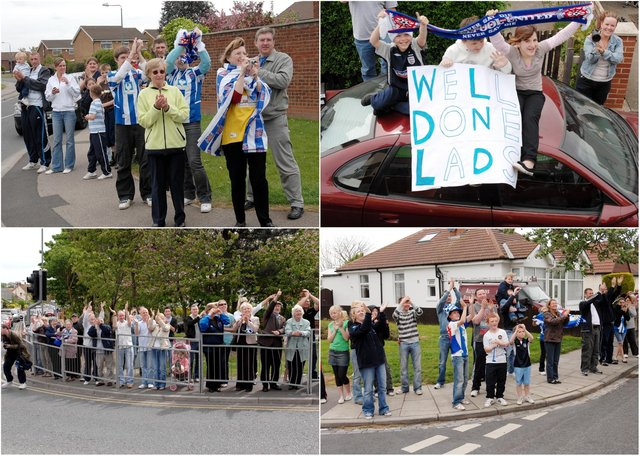 Were you there when Pools paraded through Hartlepool?
