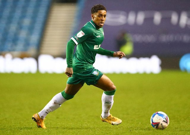 Sheffield Wednesday winger Kadeem Harris.