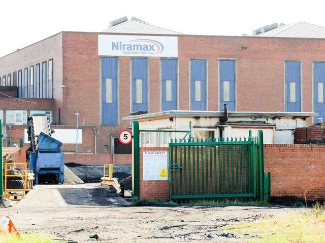Hartlepool's Niramax plant.