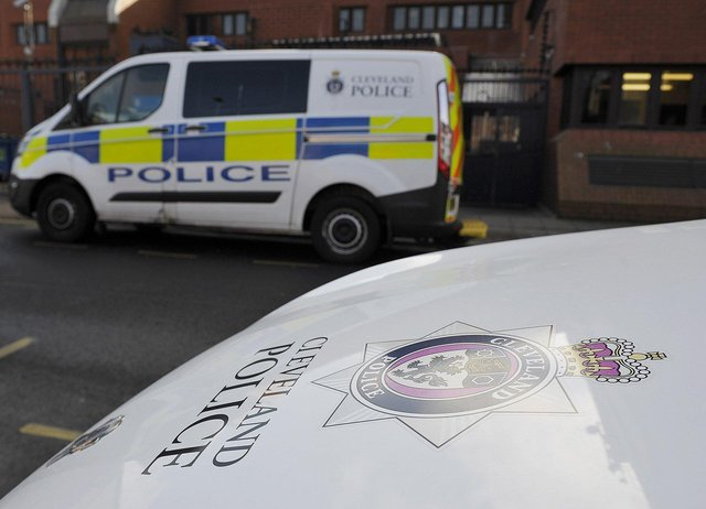 A teenager has been arrested and bailed on suspicion of committing two offences at a Hartlepool supermarket.