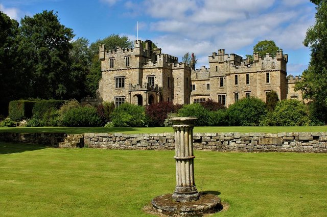 Otterburn Castle Country House Hotel.