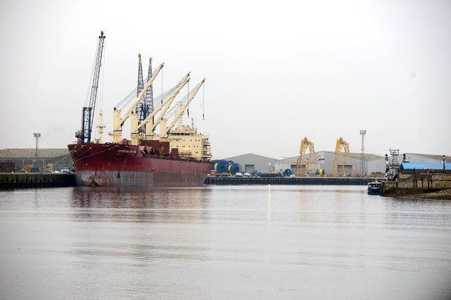 The Port of Hartlepool will be part of the new Teesside freeport.