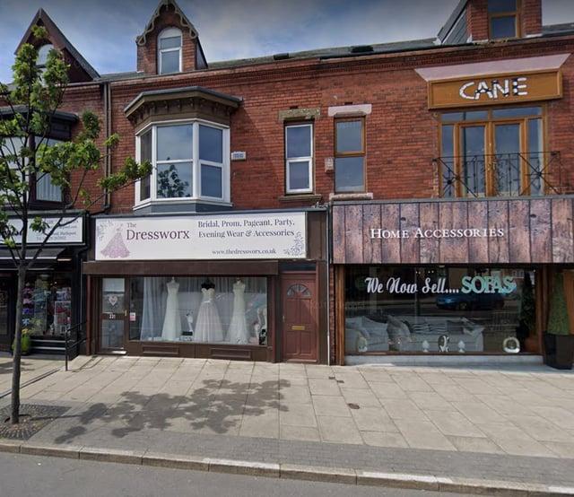 The Dressworx in York Road, Hartlepool. Pic via Google Maps.