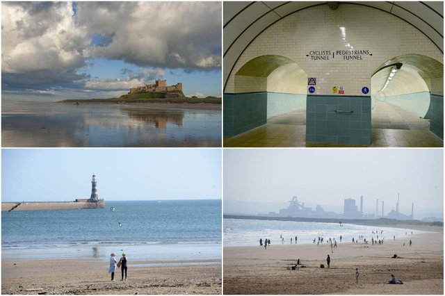 The baton will make its way from the Scottish Borders, through Northumberland and then the pedestrian Tyne Tunnel, and then down to Teesside with the help of swimmers, walkers, runners, kayakers, paddle boarders and horse riders.