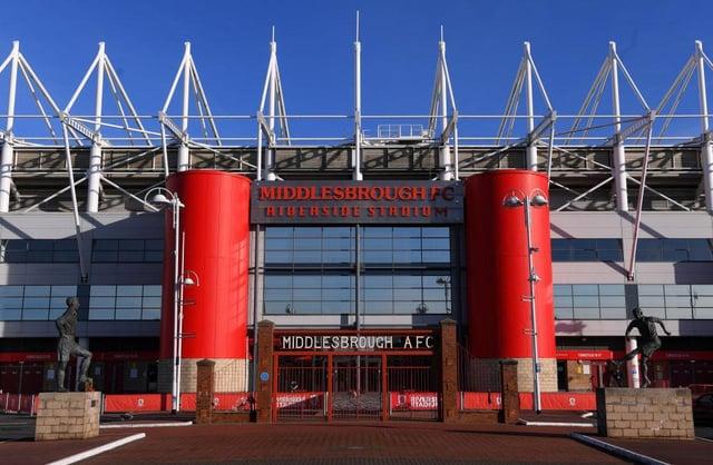 Riverside Stadium.