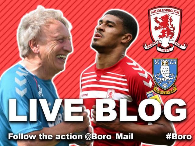 Sheffield Wednesday 1 Middlesbrough 2 Recap Neil Warnock And Garry Monk React To Hillsborough Result Hartlepool Mail