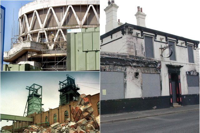 So many familiar scenes but how many of these buildings would you have back?