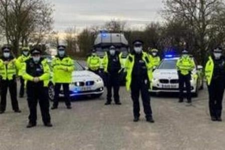 The police and council operation to tackle road issues across Hartlepool.