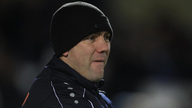Hartlepool United manager Dave Challinor (Credit: Mark Fletcher | MI News)