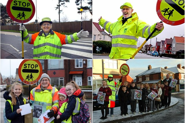Is there a crossing patrol worker that you recognise from these retro photos?