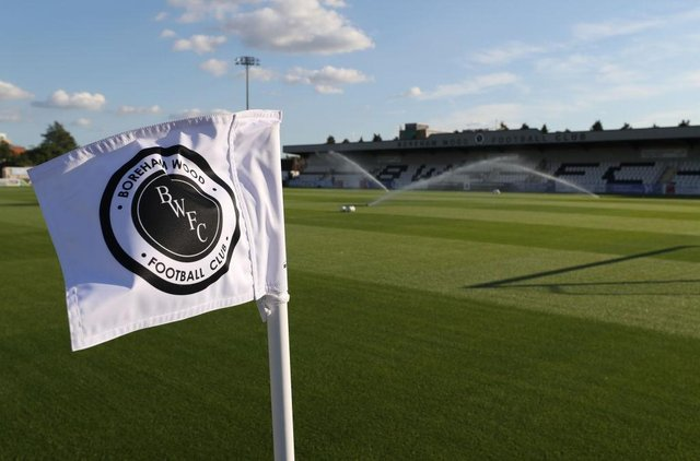 Meadow Park, Boreham Wood (Photo by Catherine Ivill/Getty Images)