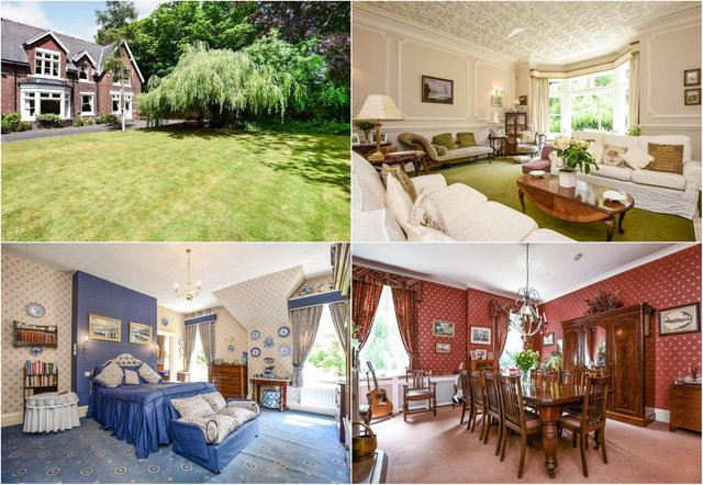The Victorian home in Hartlepool's Grange road boasts six bedrooms and a large cellar./Photo: Rightmove