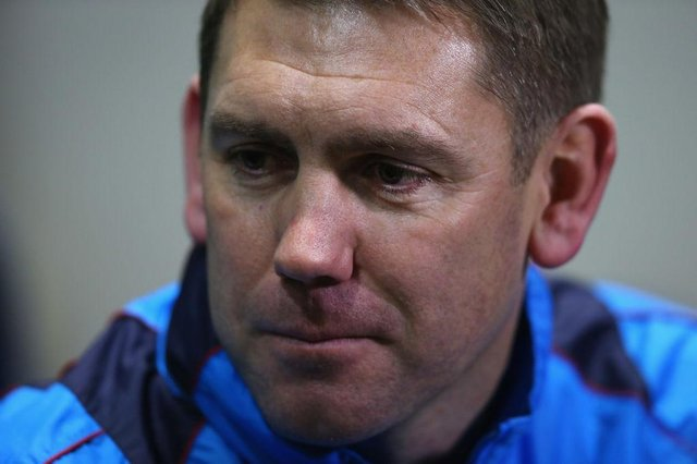 Hartlepool United manager Dave Challinor.