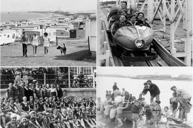 Take a look at life on the coast in years gone by.