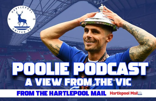 Hartlepool United podcast.
