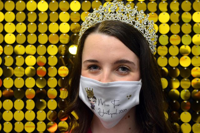 Chloe was set to compete in the final of Miss Teen Great Britain in 2020, but the event was postponed because of the pandemic.