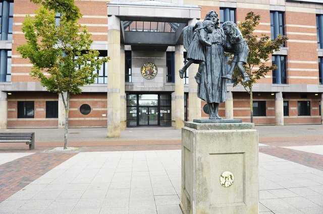 Teesside Crown Court, Middlesbrough. Picture by FRANK REID
